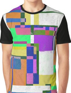 Pastel Geometry Graphic T-Shirt