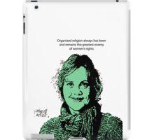 Annie Laurie Gaylor FFRF iPad Case/Skin
