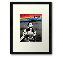 Over The Rainbow Framed Print