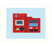 Minimalist Kanto Pokedex Art Print