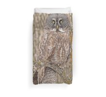 Camouflage-an owl's best friend Duvet Cover