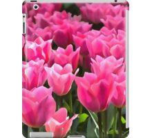 No Spanking The Monkey©WEAR Pink Tulips  iPad Case/Skin