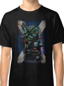 Tartan Robot Classic T-Shirt