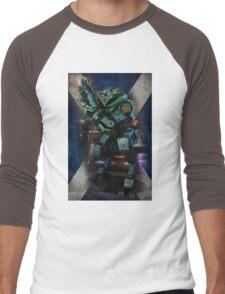 Tartan Robot Men's Baseball ¾ T-Shirt