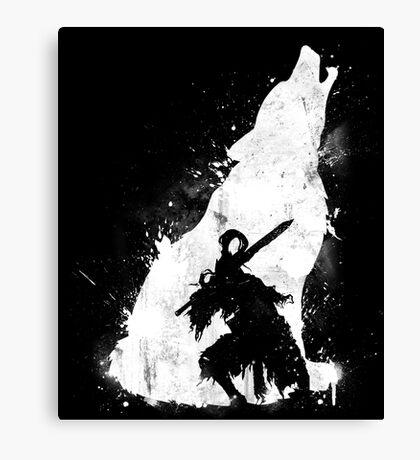 Abyss Warrior Canvas Print