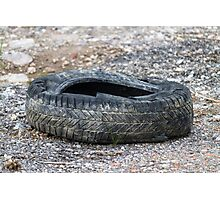old tires Photographic Print