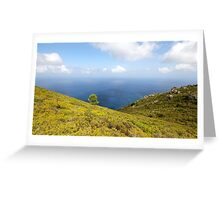 Top of the Hill Greeting Card