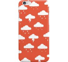 Precipitation Red iPhone Case/Skin