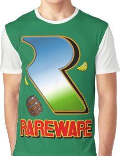 Rareware Donkey Kong Country Style Graphic T-Shirt