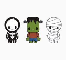 Frankie, Bones and Mo! One Piece - Long Sleeve