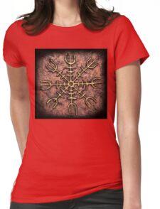 Helm of Awe (ægishjálmr) Womens Fitted T-Shirt