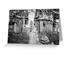 Grave Greeting Card