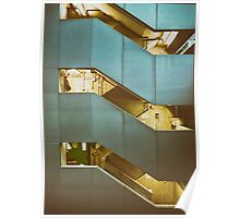 Building Staircase Poster