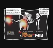 MIB Murderers In Black Talk NFL Football by db-comics