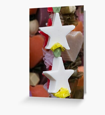 Christmas decorative star Greeting Card