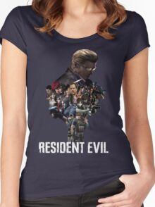 Resident Evil! Women's Fitted Scoop T-Shirt
