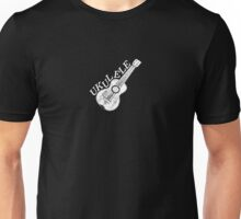Ukulele Text And Image Unisex T-Shirt