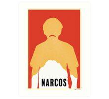 Minimalist Narcos Art Print