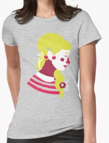cherries on your ears Womens Fitted T-Shirt