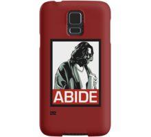 Jeff Lebowski (the dude) abides - the big lebowski Samsung Galaxy Case/Skin