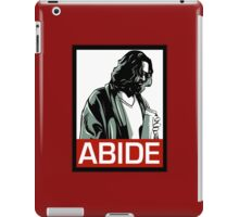 Jeff Lebowski (the dude) abides - the big lebowski iPad Case/Skin