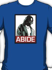 Jeff Lebowski (the dude) abides - the big lebowski T-Shirt