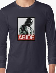 Jeff Lebowski (the dude) abides - the big lebowski Long Sleeve T-Shirt