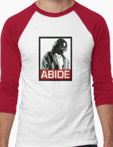 Jeff Lebowski (the dude) abides - the big lebowski Men's Baseball ¾ T-Shirt