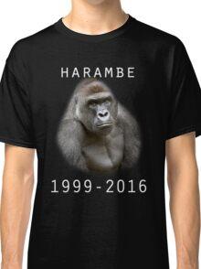 R.I.P Harambe (White) Classic T-Shirt