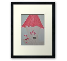 Red Is Eye-catching Framed Print