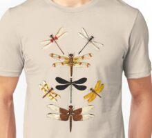 Dragonflies amazing retro vintage design! Unisex T-Shirt