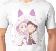 Emilia & Subaru - Re:Zero kara Hajimeru Isekai Seikatsu Unisex T-Shirt