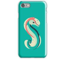 S for Seahorse iPhone Case/Skin