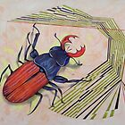 The measurement of space / stag-beetle by federico cortese