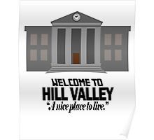 Welcome to Hill Valley Poster