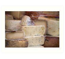 local cheese Art Print