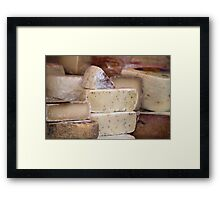 local cheese Framed Print