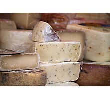 local cheese Photographic Print
