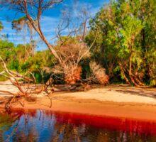 Donnelly River view off Pemberton, Western Australia Sticker