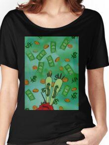 Raining Money Krabs Women's Relaxed Fit T-Shirt
