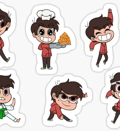 Marco sticker sheet 1 Sticker