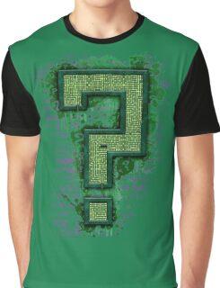 Riddler's Questionable Maze Graphic T-Shirt