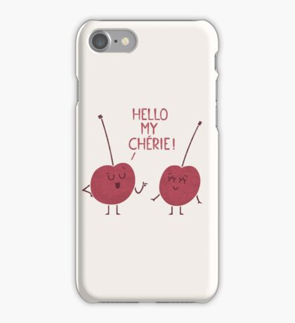 Le Flirt iPhone Case/Skin