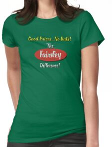 The Fairsley Difference! Womens Fitted T-Shirt