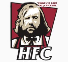 The hound fried chicken (HFC) - Kentucky parody.  by King84