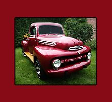 1950 MERCURY M1 TRUCK - THROW PILLOW AND OR TOTE BAG by ✿✿ Bonita ✿✿ ђєℓℓσ