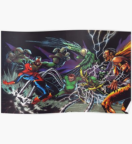 Spider-Man Vs. The Sinister 6  Poster