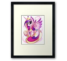 Princess Cadence Framed Print