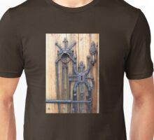 Nordic Church Door Hardware, Iceland Unisex T-Shirt