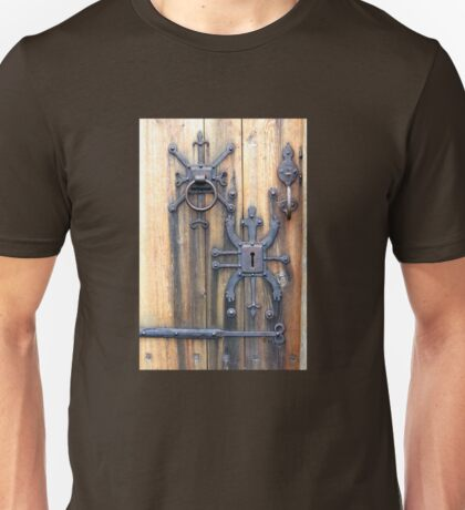 Nordic Church Door Hardware, Iceland Unisex T-Shirt